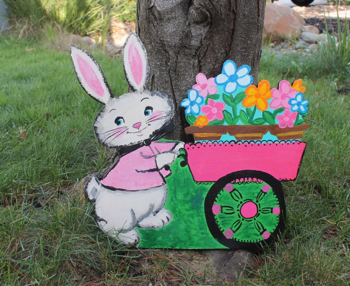 Easter decoration outdoor - Images Of Outdoor Easter Bunny Decorations Get Your Fashion Style Garden Idea