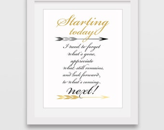 Quotes Art, Downloadable Prints, Quotes Download, Gold Arrow, Wall Art, Printable Art, Quotes Prints, Minimalist Prints, Printable Wall Art