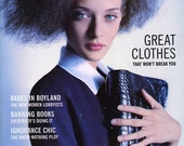 "Susan Sarandon on ""Little Women""   Mirabella Magazine  1995   Mary McCarthy on Friendship  Great Clothes that won't Break You"