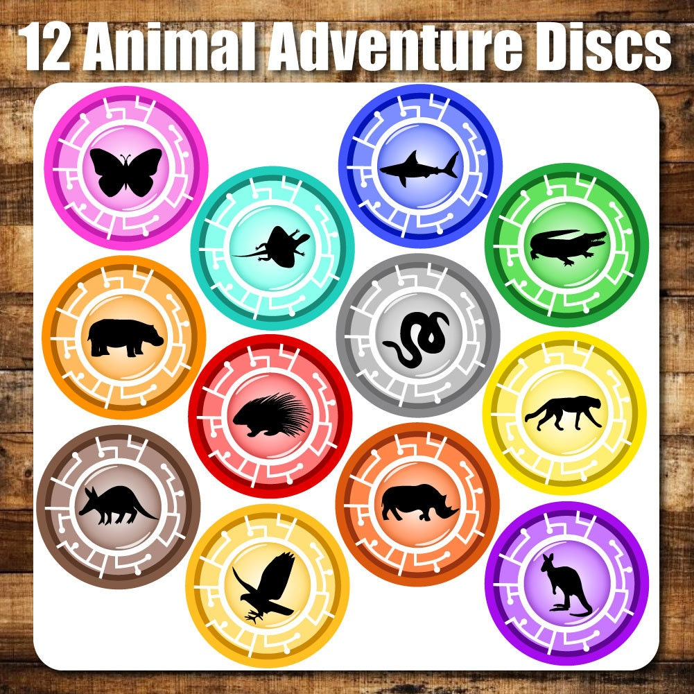 Intrepid image regarding creature power discs printable