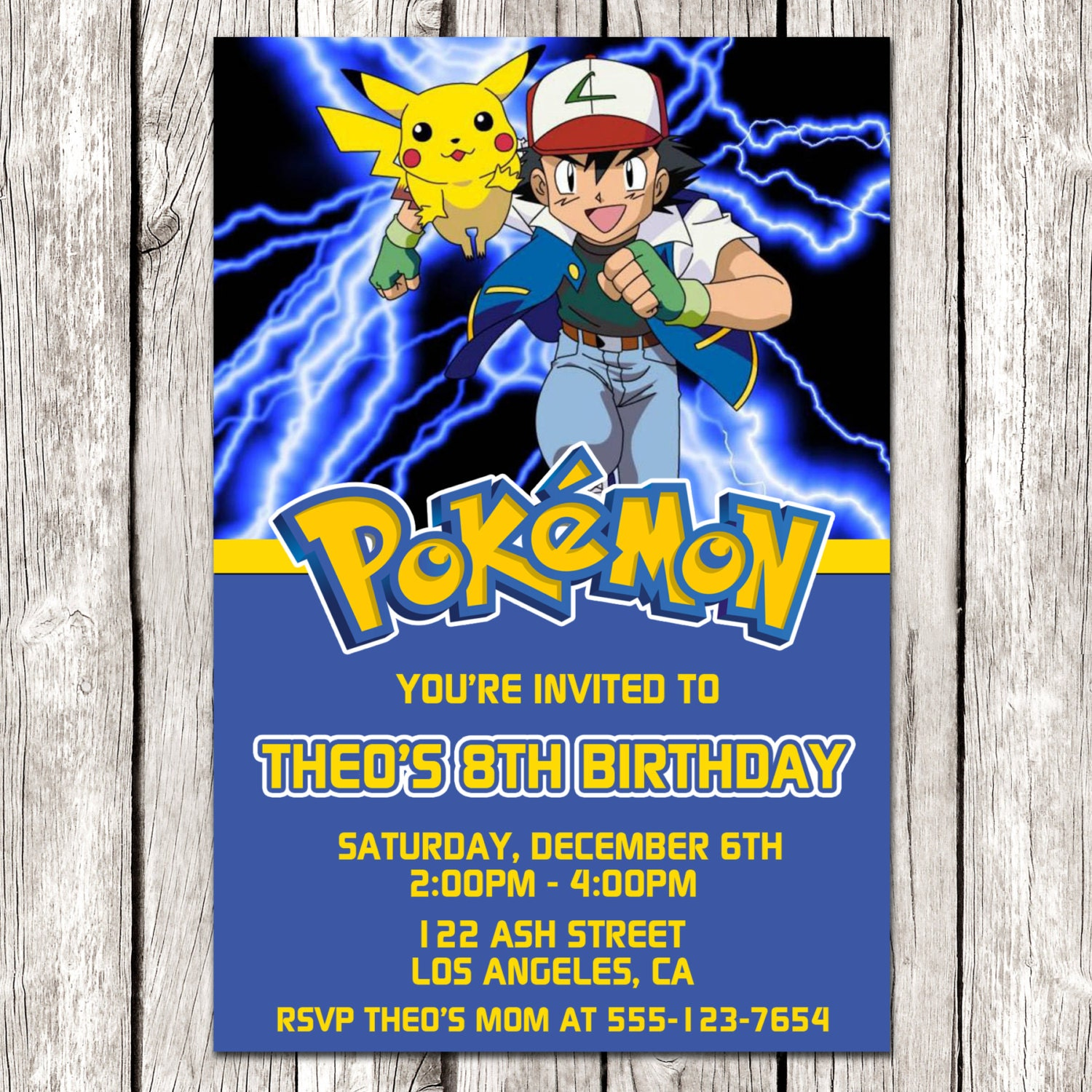 pokemon invitations pokemon invitation pokemon birthday party diy printable