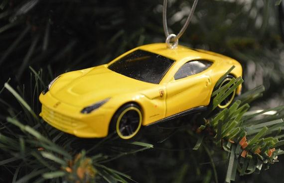 Hot wheels ferrari f12berlinetta ornament ornament made w for Ferrari christmas