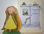 L'Armadio di Mignolina - Una piccola bambola di carta con tanti vestiti da ritagliare e colorare.