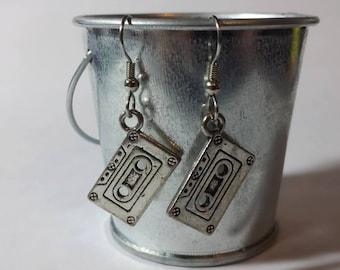 Casette Retro Earrings
