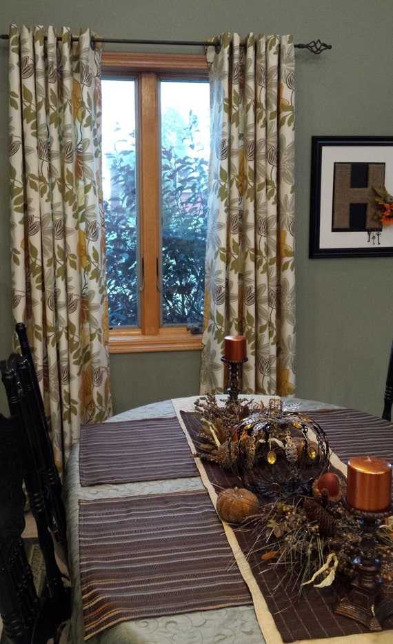 Window curtains pair of drapery curtain panels 24 or for 108 window treatments