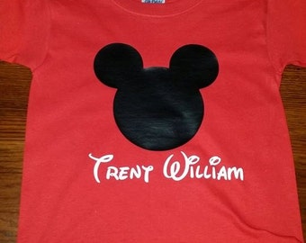 Mickey Mouse Shirt For Boys