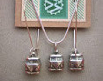 VW Bus Necklace & Earring set