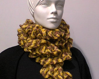 A scarf is winter wave