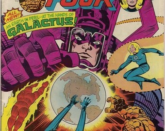 GALACTUS Marvel Comics FANTASTIC FOUR #173 Roy Thomas John Buscema