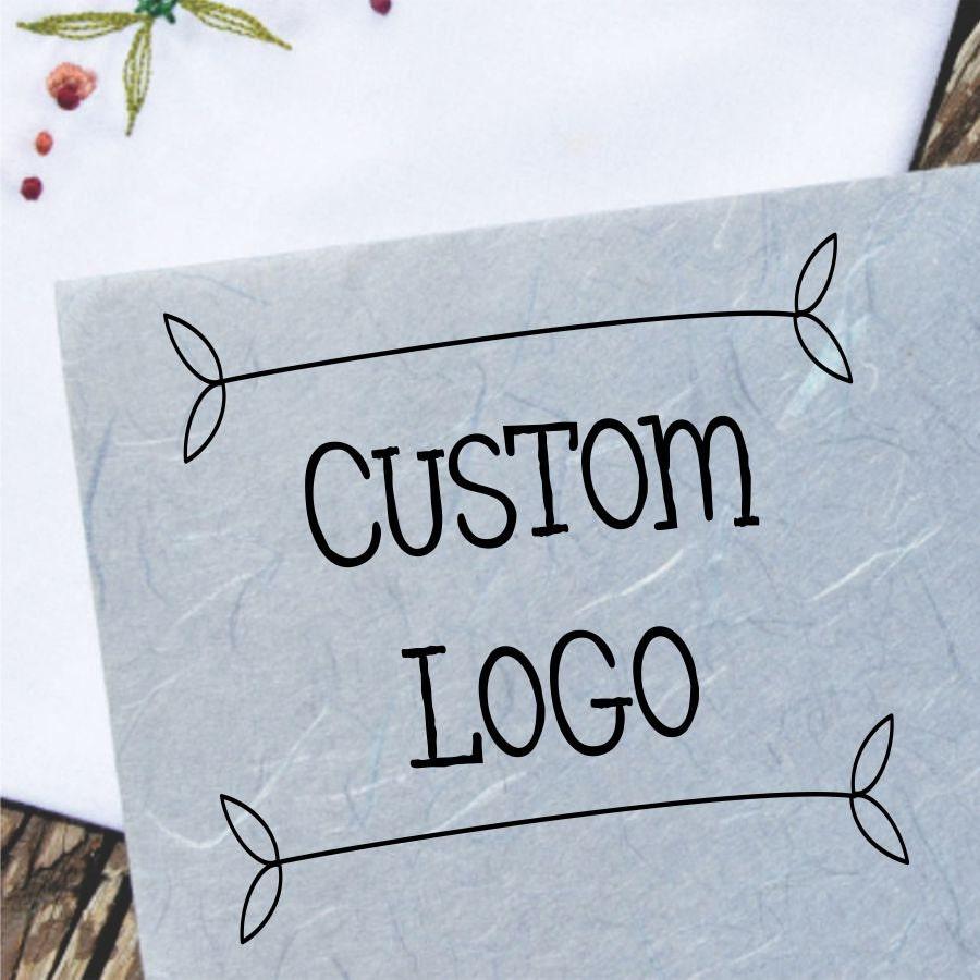 Custom Logo Loyalty Card Self-inking Rubber Stamp Cafés ...   Custom Logo Rubber