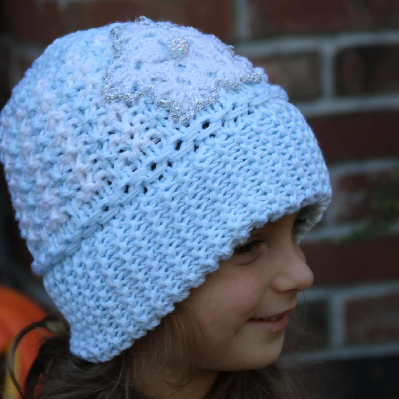 Knitting Pattern For Elsa Hat : Knitted frozen hat. Knitted Elsa hat. Knit Elsa hat. Knit