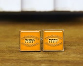 Antique Brass Tetragrammaton cuff links, custom round or square cuff links & tie clip,  jw.org cufflinks, jw.org jewelry, God Jesus symbol