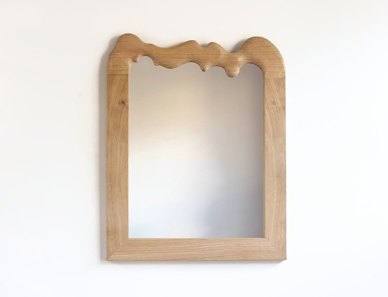 Decorative Wall Mirror Wooden Mirror Wall Mirror Oak