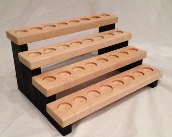Handmade Wooden Essential Oil Storage Shelf