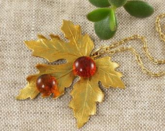 Necklace Maple Leaf no.9 (#5393)