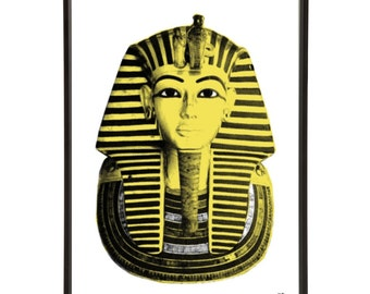 Ancient Egypt Tutankhamun Pop Art Print
