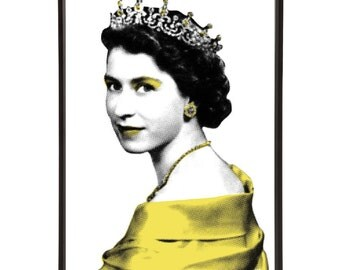 Queen Elizabeth II Pop Art Print