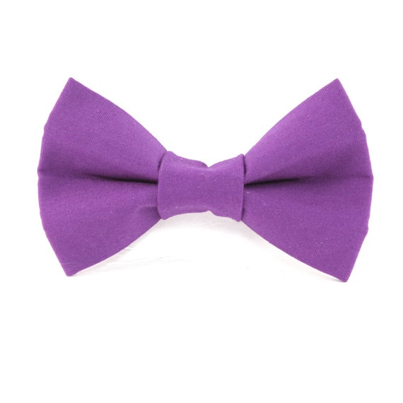 items similar to cat or small bow tie magenta purple