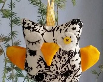 Small fabric owl