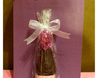 Belgian Chocolate Wine Bottle