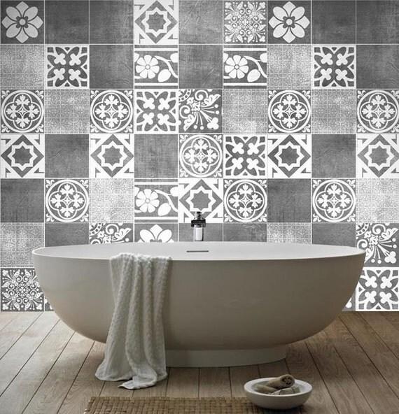 Lusso adesivi piastrelle adesivi di parete piastrelle for Autoadesivi per piastrelle