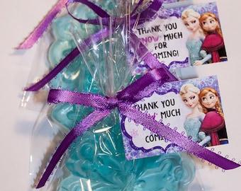 20 Frozen Soap Favors, Disney Frozen, Frozen Birthday Party Favors
