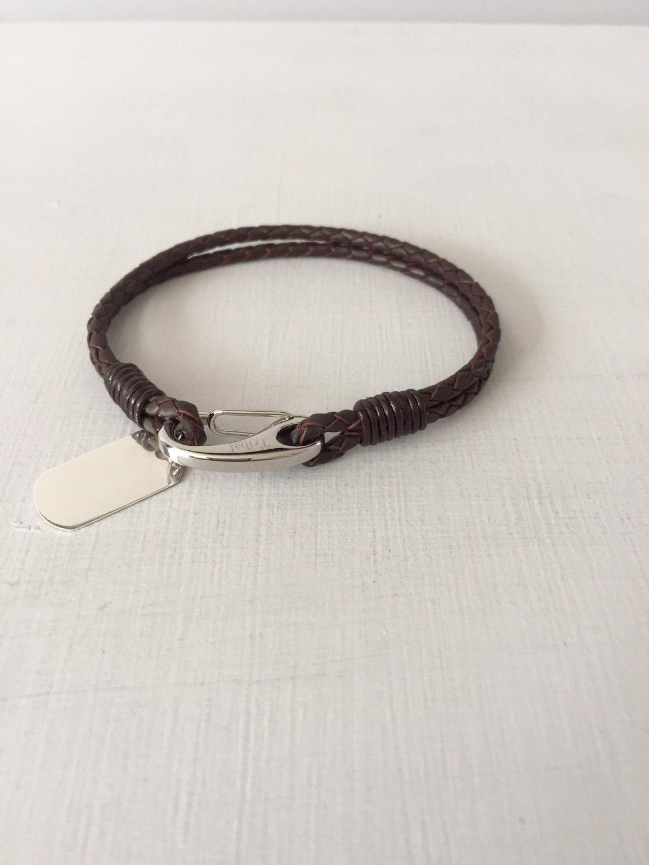 mens bracelet engraved bracelet gift for him silver