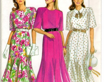 New Look 6255 Misses' sewing pattern for dress Unused, Factory Folded in sizes 8-18