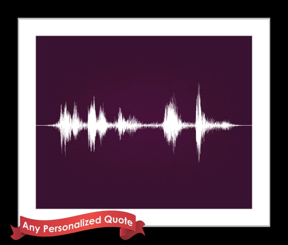 Cool Christmas Wall Decor : Sound wall art unique christmas gift ideas by