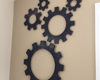 Cogs / Gears For Wall Decoration Vintage Industrial