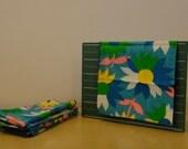 Vintage Floral Cloth Napkins - set of 6