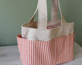 Watermelon Wishes Small Craft Organization Tote Bag