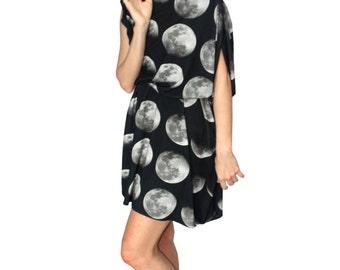 Moon Phase Jersey Dress