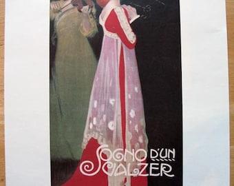 Sogno d'un Valzer poster -- 11x14