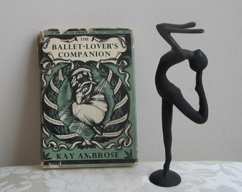 The Ballet Lover's Companion Book by Kay Ambrose 1978 Vintage Hardcover Illustrated Dance