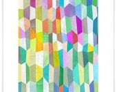 Trapezoid Love Art Print