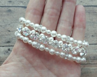 Bridal Bracelet, Bride Pearl Bracelet, Wedding Jewelry, Pearl Bride Jewelry, Pearl Bridal Bracelet, Bride Jewelry, Pearl Bride Bracelet