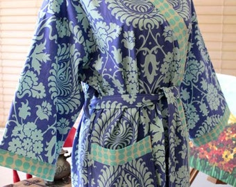 Custom Robe - Bath Robe - Kimono Robe - Bridesmaid Gift Robe -  Bridesmaid Kimono Robes - Custom your style