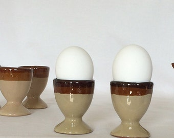 "Eggcup Stands 2 1/2"" Stoneware"