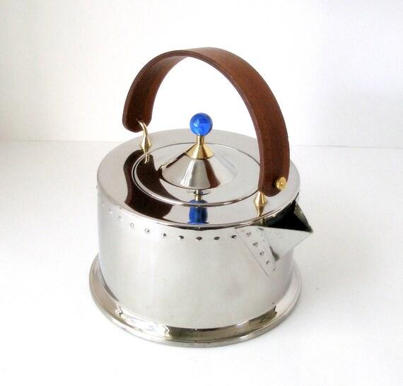 Vintage Bodum C Jorgensen Tea Kettle Ottoni Inox 18 8 Post