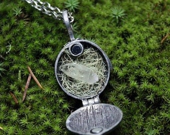 in love with nature locket II