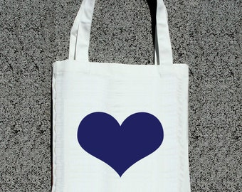 Bridal Party Simple + Sweet Heart Tote - Wedding Welcome Tote Bag