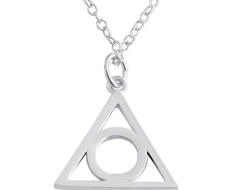 Illuminati Symbol Eye of Providence Pendant Necklace #925 Sterling Silver #Azaggi N0201S