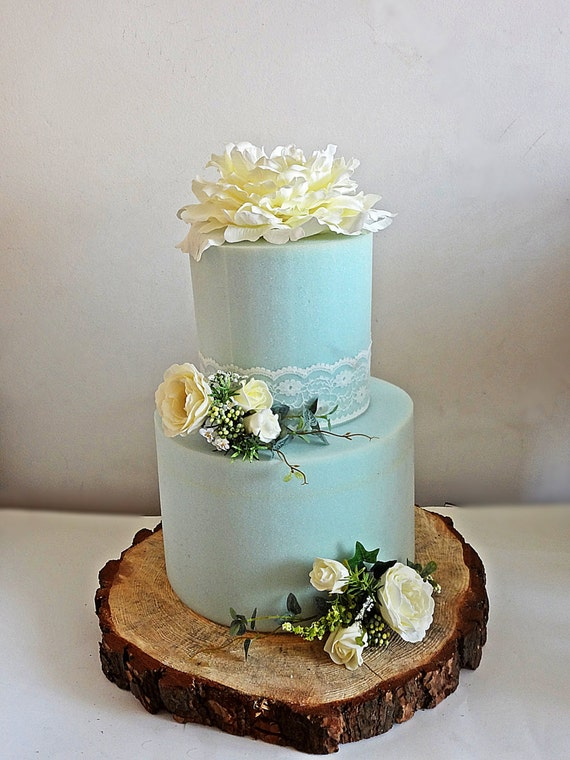 Cake Decorating Artificial Flowers : White flower cake toppers Wedding flowers by ...