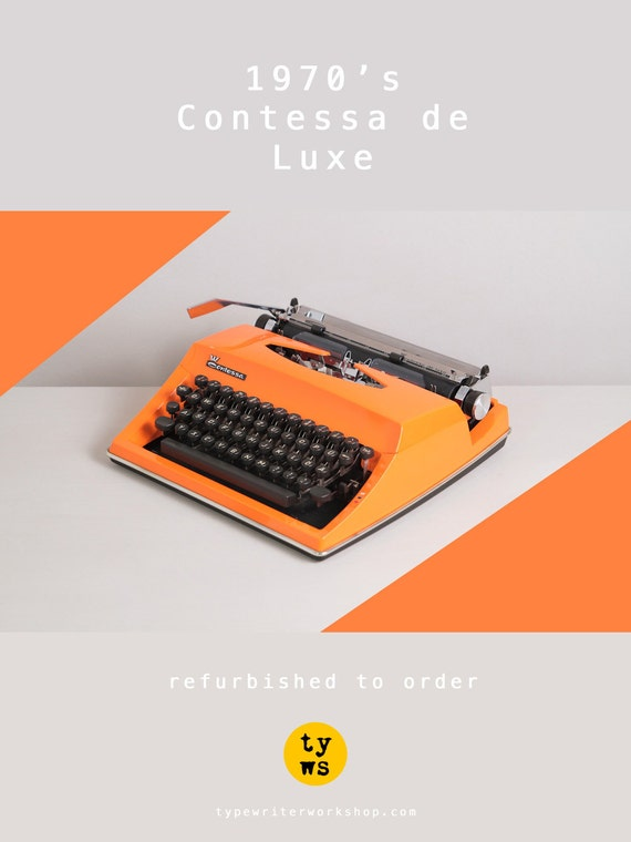 triumph adler contessa de luxe machine crire des ann es. Black Bedroom Furniture Sets. Home Design Ideas