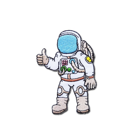 Astronaut Patch Astronaut Embroidered Iron on by ...