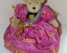 "Muffy Vanderbear Bal Masque 1991 Masquerade Ball Gown 8"""