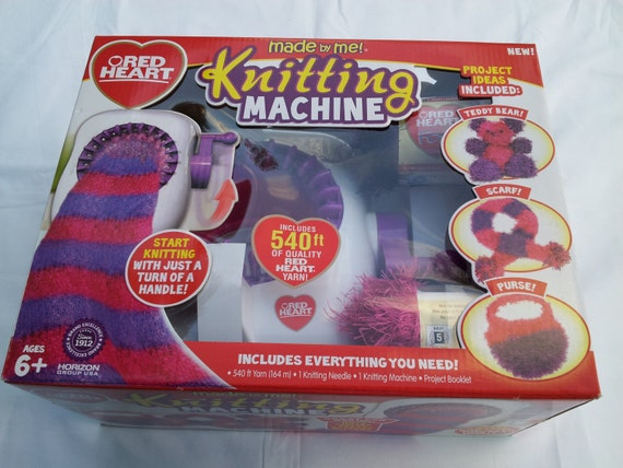 Circular Knitting Machine : Red Heart Circular Knitting Machine