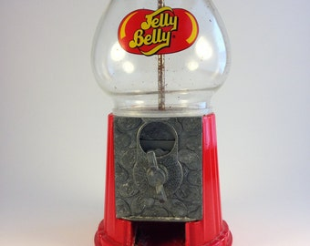 Shabby Vintage Jelly Belly Mini Gumball Machine