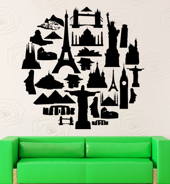One Source Travel Agent: Items Similar To Wall Stickers Travel Agency Tourist